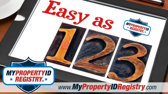 How Do I Properly Register and Secure My Personal Property?